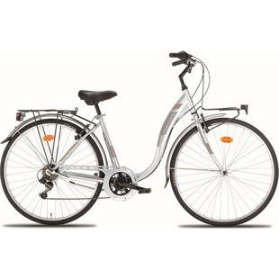 28 Zoll Damen City Fahrrad Montana Liberty 7... weiß