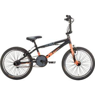 20 Zoll BMX Fahrrad Montana Wax... schwarz-orange