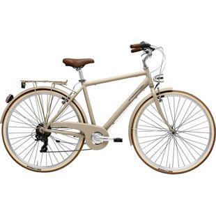 28 Zoll Herren City Fahrrad Adriatica Sity Retro 6... braun, 50 cm
