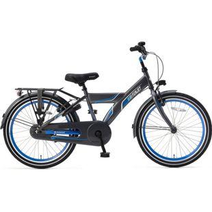 22 Zoll Kinder Fahrrad Popal Funjet X 22178 ohne... grau-blau