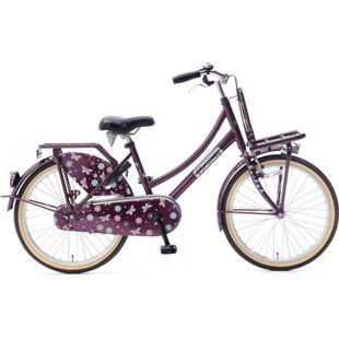 22 Zoll Mädchen Fahrrad Popal Daily Dutch Basic TR22 ohne... lila