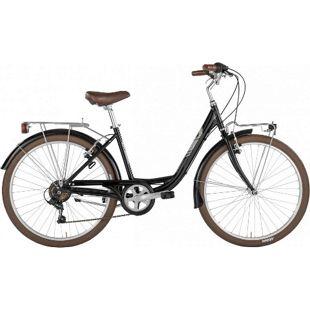 26 Zoll Damen Cityrad Alpina Dorothy 6... schwarz