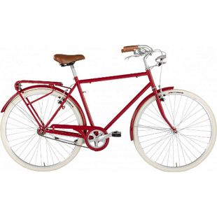 28 Zoll Herren Hollandrad Alpina Sporting Single Speed... rot, 54 cm