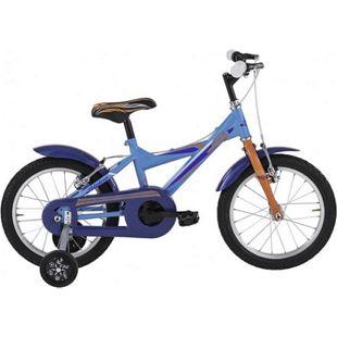 16 Zoll Jungen Fahrrad Alpina... blau