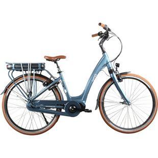 28 Zoll Elektro Damen Fahrrad Cyclo2 VOLUTO... blau, 45 cm