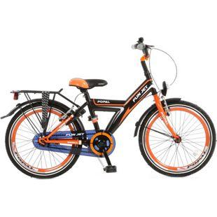 20 Zoll Kinder Fahrrad Popal Funjet 2008 ohne... schwarz-orange