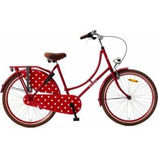 26 Zoll Damen Hollandrad Popal Omafiets OM26 ohne... rot