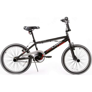 20 Zoll BMX Fahrrad Popal Laser ohne Schaltung... schwarz-weiß