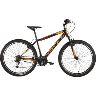 26 Zoll Mountainbike Montana Escape 18... schwarz-orange, 38 cm
