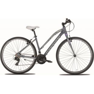 28 Zoll Damen Mountainbike Montana X-Cross 21... grau, 48 cm