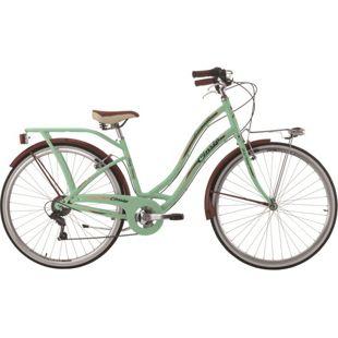 28 Zoll Damen City Fahrrad Cinzia Carosello 6 Gang... pastellgrün