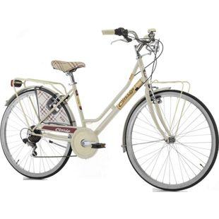 26 Zoll Damen Holland Fahrrad Cinzia Kilt 6 Gang... creme