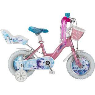 12 Zoll Mädchen Fahrrad Hoopfietsen Ice Fairy... rosa