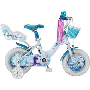 12 Zoll Mädchen Fahrrad Hoopfietsen Ice... weiß