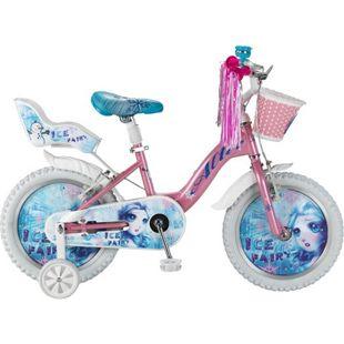 16 Zoll Mädchen Fahrrad Hoopfietsen Ice Fairy... rosa