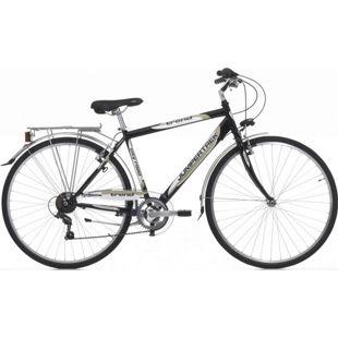 28 Zoll Herren Trekking Fahrrad Cinzia Trend 6 Gang... schwarz-creme