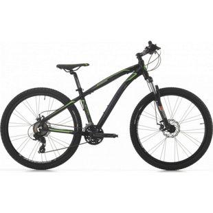 27,5 Zoll Mountainbike Cinzia Sleek 21 Gang... schwarz-grün. matt, 39 cm