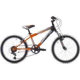 20 Zoll Mountainbike Cinzia Shark Boy 6... schwarz-orange