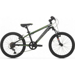 20 Zoll Mountainbike Cinzia Devil Boy 6 Gang... schwarz-grün. matt
