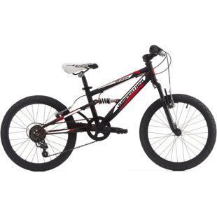 20 Zoll Fully Mountainbike Cinzia Shape 6 Gang... matt-schwarz