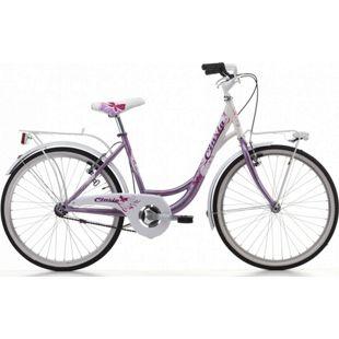 24 Zoll Mädchen Fahrrad Cinzia Liberty... pink-weiß