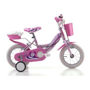 12 Zoll Mädchen Fahrrad Cinzia Puppies... pink