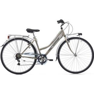 28 Zoll Damen Trekking Fahrrad Cinzia Trend 6 Gang... gold