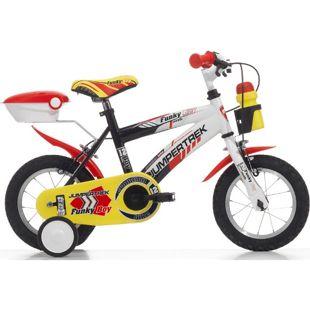 12 Zoll Kinder Fahrrad Cinzia Funky Boy... schwarz-weiß