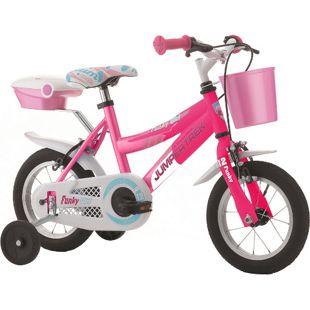 12 Zoll Mädchen Fahrrad Cinzia Funky Girl... pink-magenta