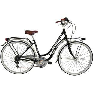 28 Zoll Damen City Fahrrad Cinzia Beauty 6 Gang... schwarz