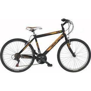 24 Zoll Jungen Mountainbike 18 Gang Coppi Jaunty... schwarz-orange