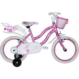16 Zoll Kinderfahrrad Mädchen Fahrrad Coppi Karina... pink