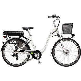 26 Zoll Elektro Damen Fahrrad Adriatica E1... weiß