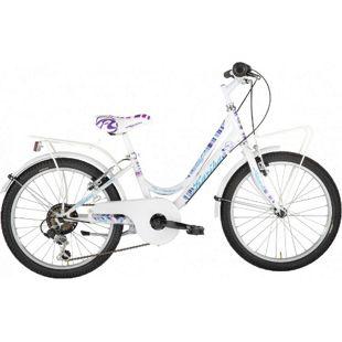 20 Zoll Mädchen Fahrrad Alpina Kariba... weiß
