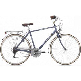 28 Zoll Herren City Fahrrad Cinzia Perla 21 Gang... blau