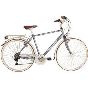 28 Zoll Herren City Fahrrad Cinzia Perla 21... grau