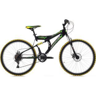 26 Zoll Fully Mountainbike Cinzia Arrow 21 Gang... schwarz