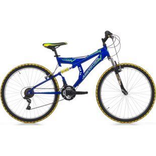 26 Zoll Fully Mountainbike Cinzia Arrow 18 Gang... blau