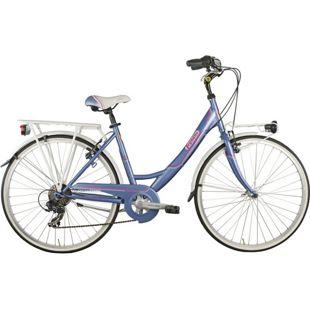 26 Zoll Damen City Fahrrad Legnano Tropea 6 Gang... lila