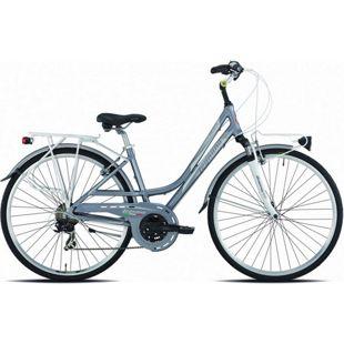 28 Zoll Damen Trekking Fahrrad Legnano Smeralda 21... 44 cm, grau-silber