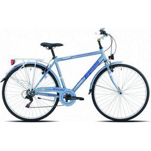 28 Zoll Herren City Fahrrad Legnano Portofino 6... 56 cm, matt-hellblau