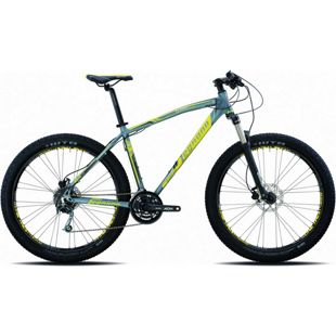 27,5+ Mountainbike Legnano Duran 27 Gang... 44 cm, matt-dunkelgrau-gelb