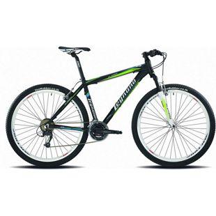 29 Zoll Mountainbike Legnano Val Gardena 21 Gang... 40 cm, matt-schwarz-grün