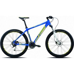27,5 Zoll Mountainbike Legnano Lavaredo 24 Gang... 38 cm, blau-gelb-schwarz