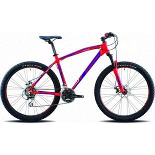 27,5 Zoll Legnano Lavaredo Mountainbike 21... 45 cm, matt-rot-blau