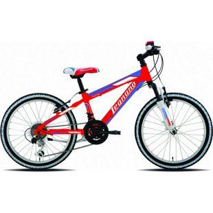 20 Zoll Mountainbike Legnano Twister 12 Gang... rot-blau-weiß
