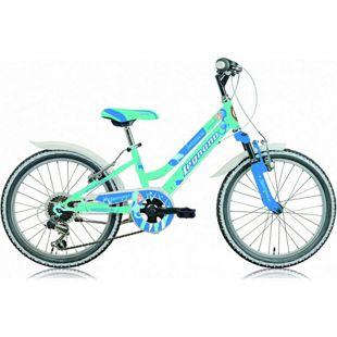 20 Zoll Mädchen Fahrrad Legnano Seahorse 6 Gang... aquamarin-blau