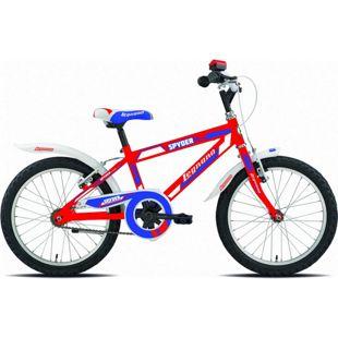 18 Zoll Jungen Fahrrad Legnano Spyder... rot-blau