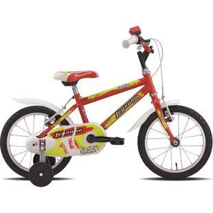 14 Zoll Jungen Fahrrad Legnano Snake... rot-gelb