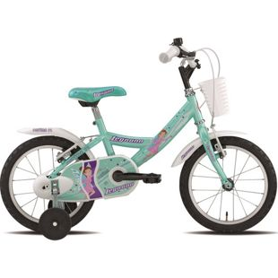 14 Zoll Mädchen Fahrrad Legnano... aquamarin